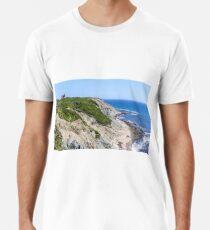 New England Lighthouse, Rhode Island, Block Island Premium T-Shirt