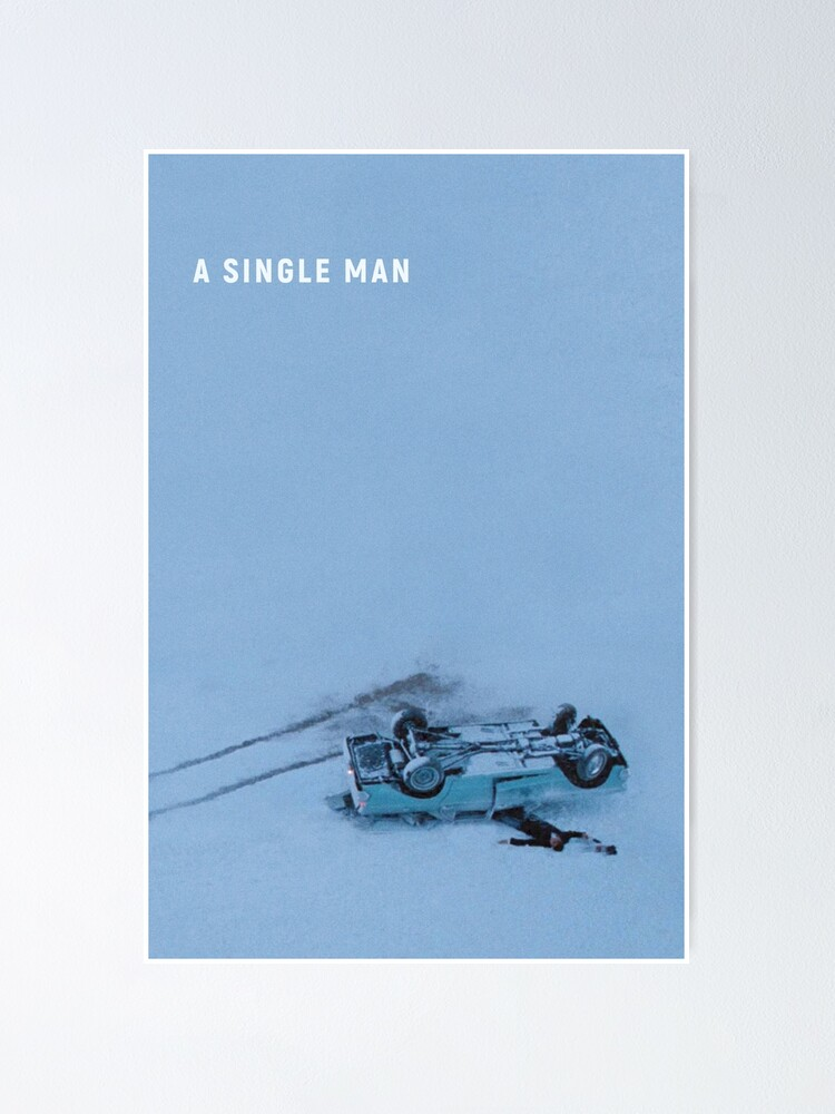 Alternate view of A Single Man Poster