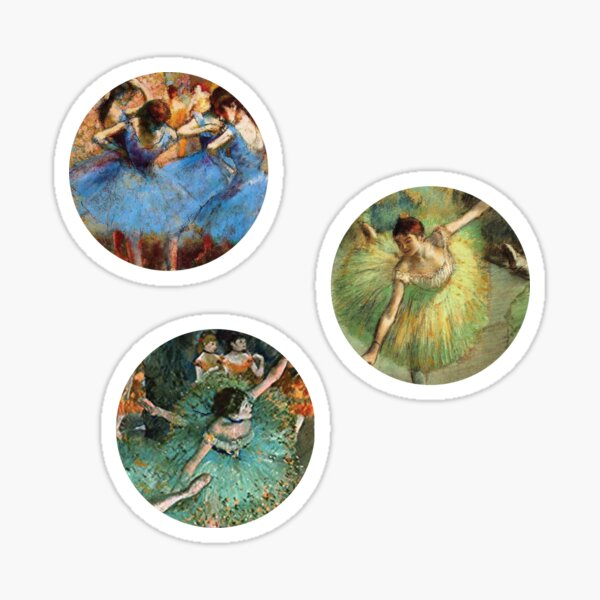 Degas Artsy Stickers  Sticker