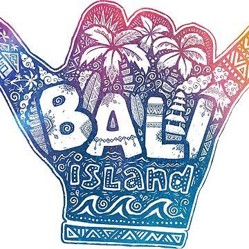 Bali island shaka by 1enchik