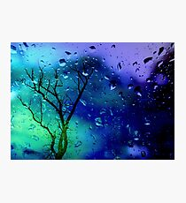 It's raining... Photographic Print
