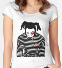 Denzel Curry- Clout Cobain Women's Fitted Scoop T-Shirt