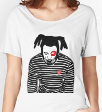 Denzel Curry- Clout Cobain Women's Relaxed Fit T-Shirt