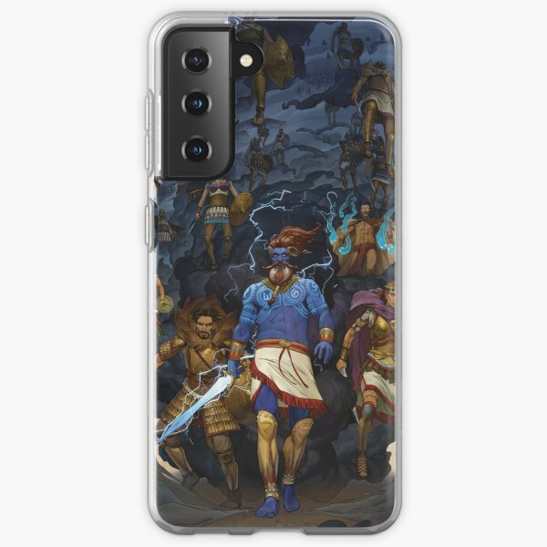 RuneQuest: Roleplaying in Glorantha, Heroes of Orlanth by Andrey Fetisov Samsung Galaxy Soft Case