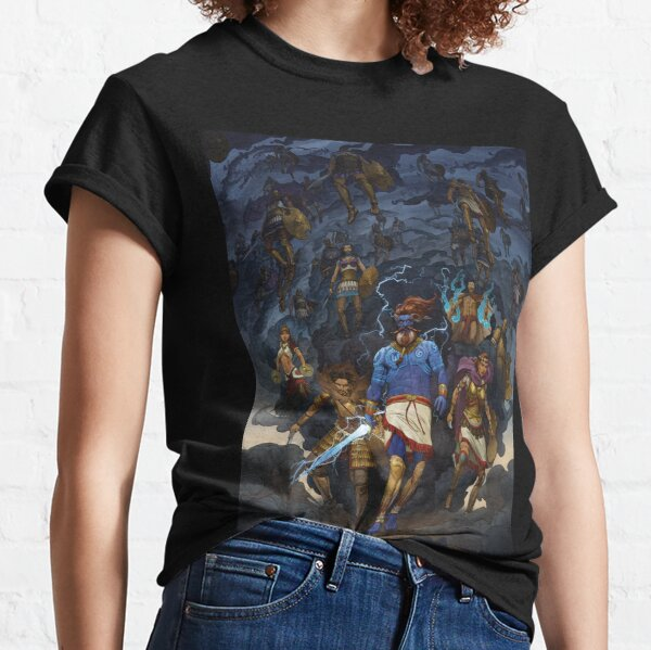 RuneQuest: Roleplaying in Glorantha, Heroes of Orlanth by Andrey Fetisov Classic T-Shirt