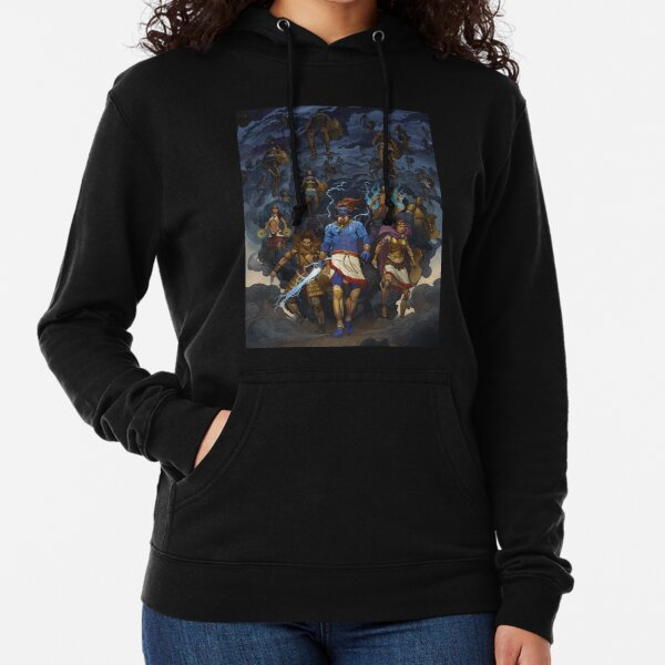 RuneQuest: Roleplaying in Glorantha, Heroes of Orlanth by Andrey Fetisov Lightweight Hoodie