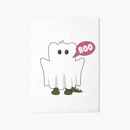 Boo - Monstapals Halloween Specials Art Board Print
