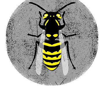 Wasp Graphic Bee  by belugastore