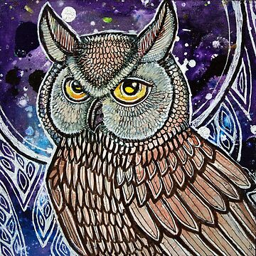 Night Owl by LynnetteShelley
