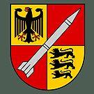 250th Rocket Artillery Battalion - Raketenartilleriebataillon 250 (German Bundeswehr - Historical)  by wordwidesymbols