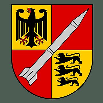 250th Rocket Artillery Battalion - Raketenartilleriebataillon 250 (German Bundeswehr - Historical)  by wordwidesymbols