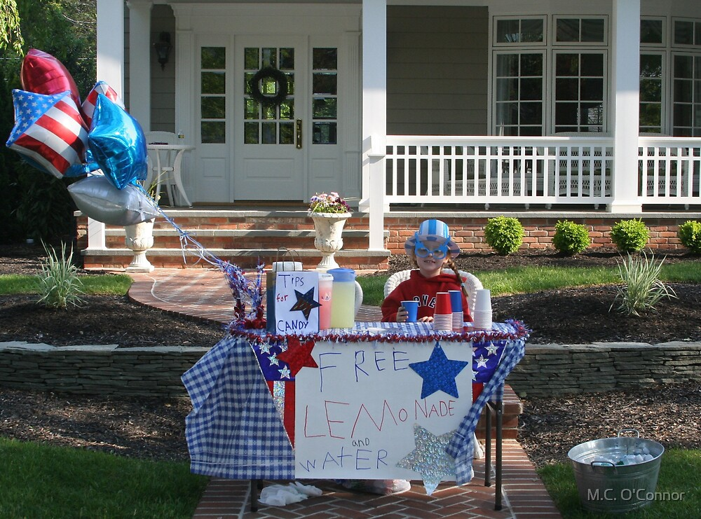 Star Spangled Lemonade Stand by M.C. O'Connor