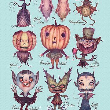 Happy Halloween by vladimirsart