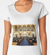 Maryland State House - House of Delegates Chamber  ^ Women's Premium T-Shirt