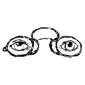 Weird eyeglasses by pennyschiereck
