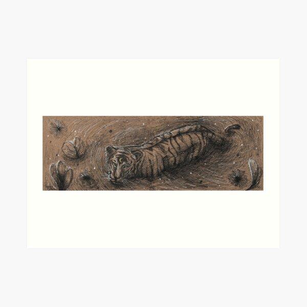 Moon Tiger Art Print
