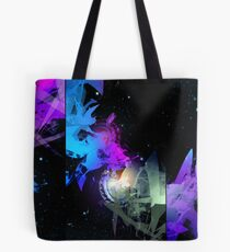 Space Worms Triptych Tote Bag