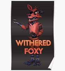 Withered Foxy (Withereds 3) Poster