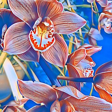 Orchid in Springtime.. by BobHickman