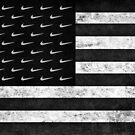 Just Kneel American Flag by mijumi