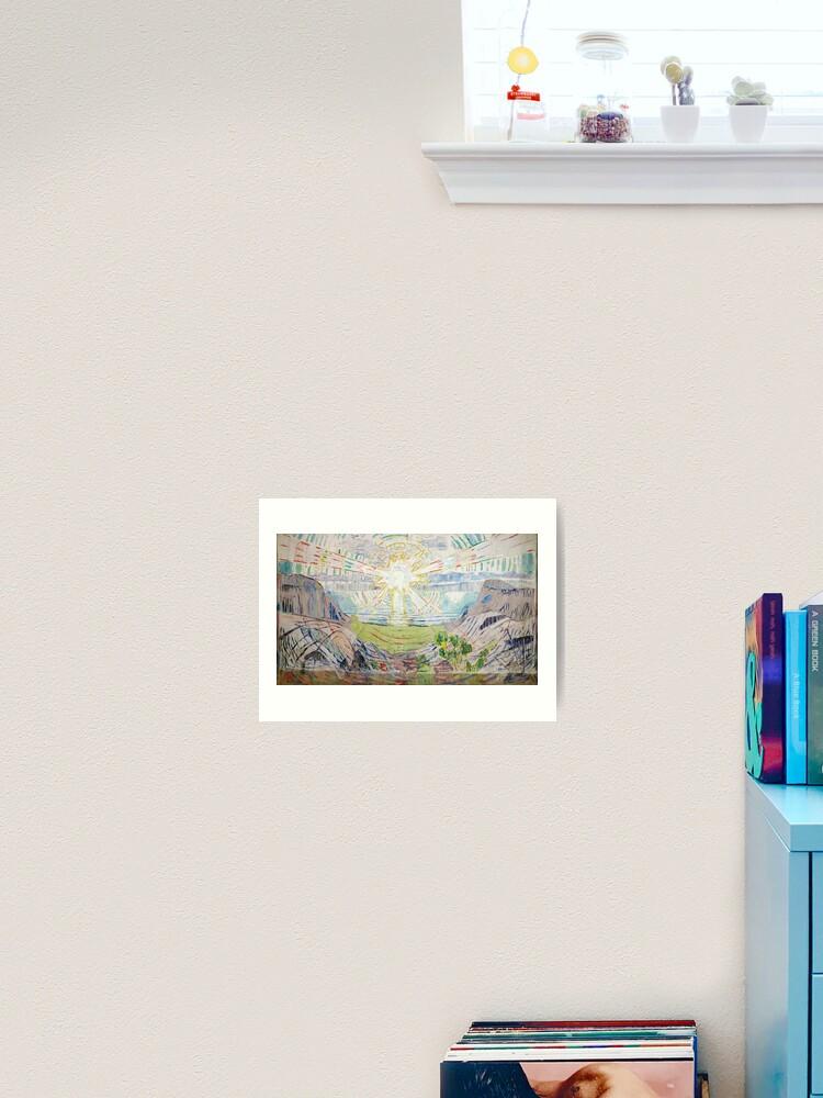 Edvard Munch Print Reproduction Attraction I Fine Art Print