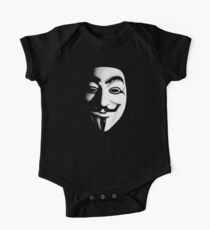 Fawkes Mask Kids Clothes