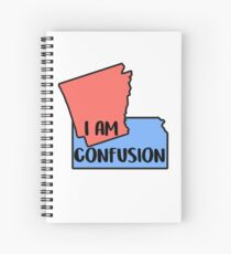 i am confusion  Spiral Notebook
