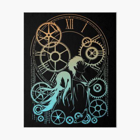 TIME Art Board Print
