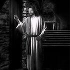 Jesus Knocking by Joe Lach