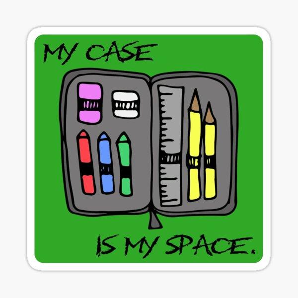 Case Space Sticker Sticker