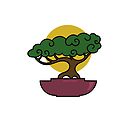 Bonsai Tree #2 by LadyBaigStudio