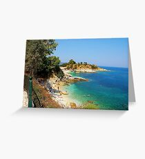 Corfu is always in my dreams Greeting Card
