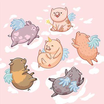 Mini Piggy Symbol of 2019 by PenguinHouse