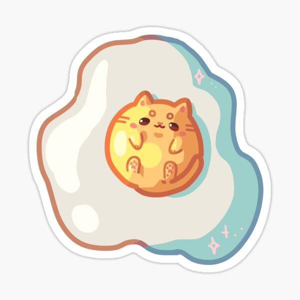 Egg Cat Sticker
