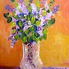 Grandmoms Lilacs by Marita McVeigh