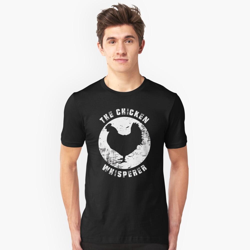 the chicken whisperer Unisex T-Shirt Front