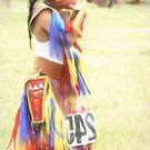 Little Native American Dancer by Dyle Warren