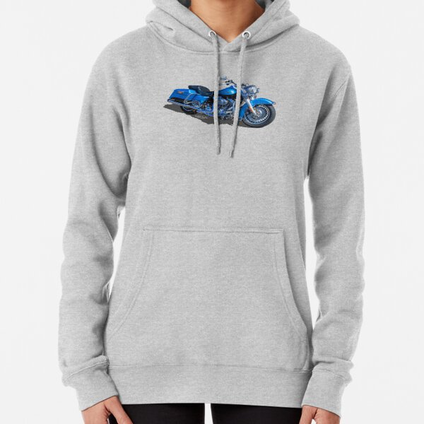 Blue Beauty Pullover Hoodie