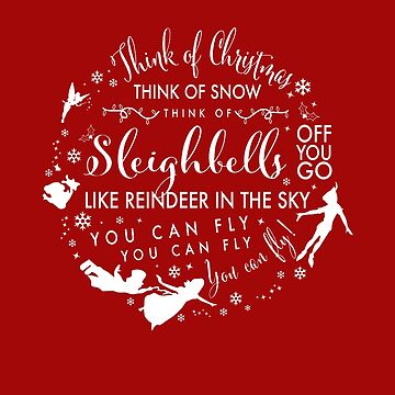 Think of Christmas Think of Snow Think of Sleighbells... You Can Fly! by subieliu