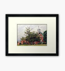 Protestant Chapel Marine Corps Base Camp Lejeune Framed Print
