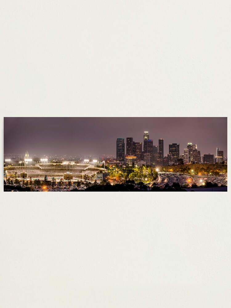 Alternate view of Los Angeles Photographic Print