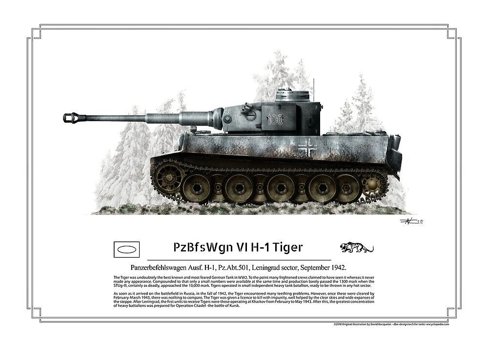 Panzer VI Tiger Ausf H-1 Sept. 1942 by TheCollectioner