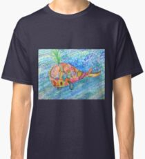 happy hippy whale  Classic T-Shirt