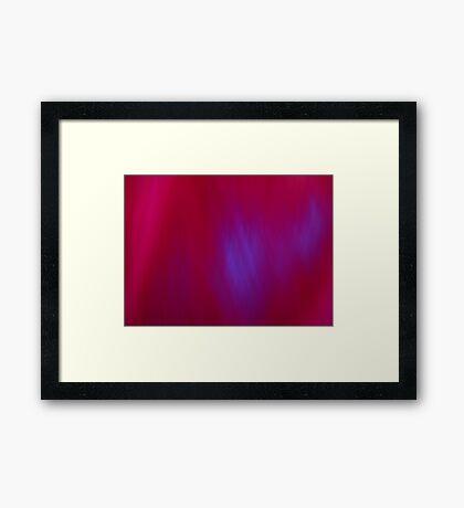 Dance of the Blue Light Framed Print
