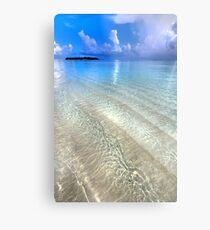 Crystal Water of the Ocean Metal Print