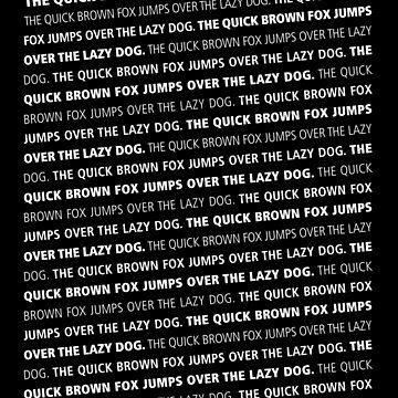 lazy dog by blackb