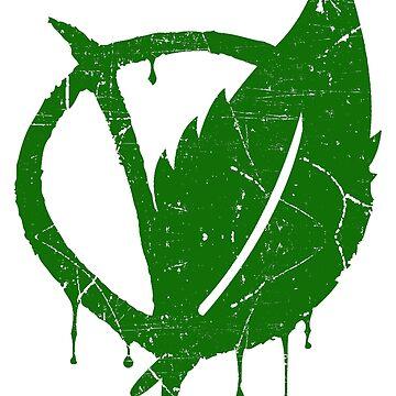 V For Vegan (White) by EddieBalevo
