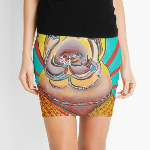 Beach Dog Mini Skirt