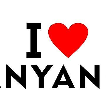 I love Anyang city by tony4urban
