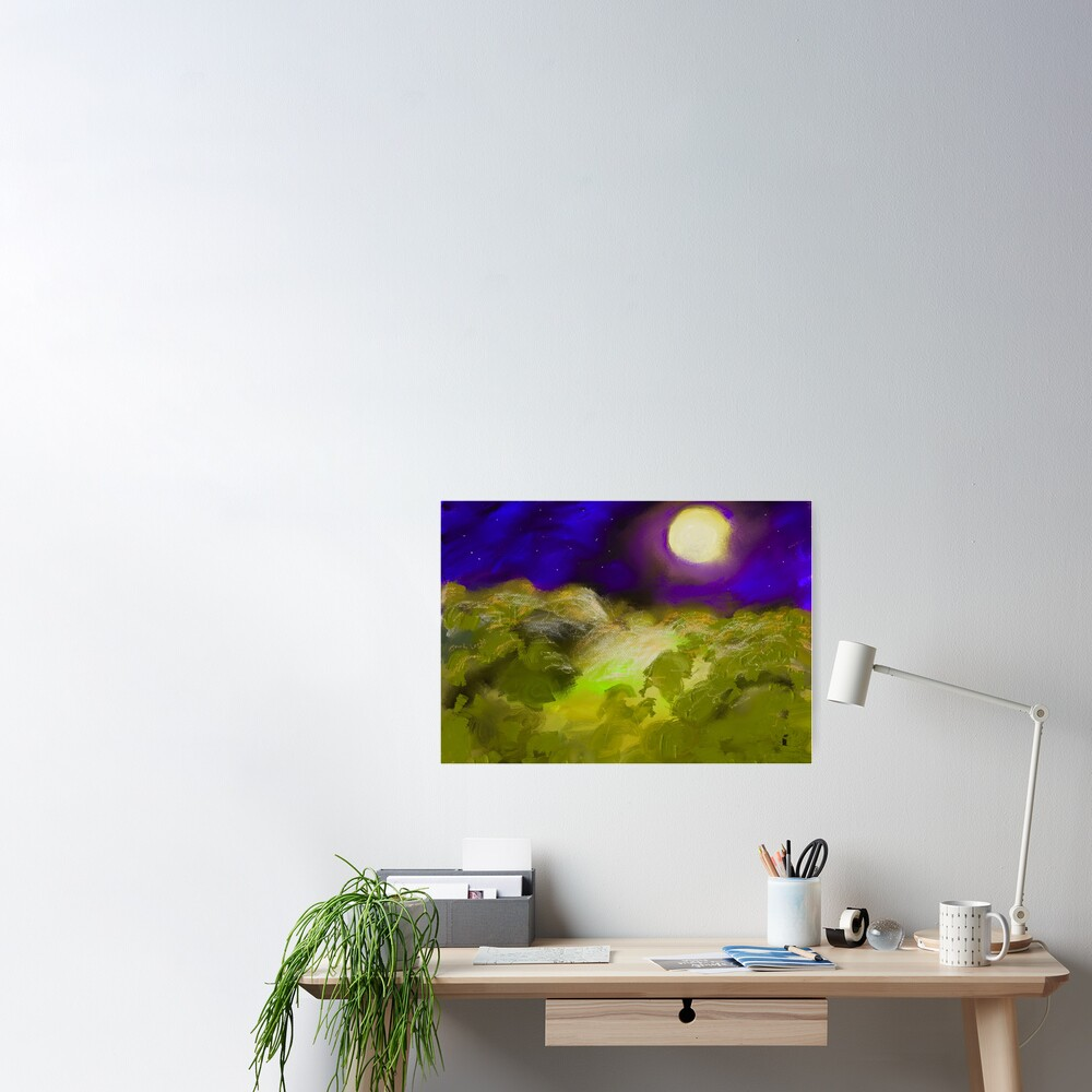 Landscape 1.C Poster